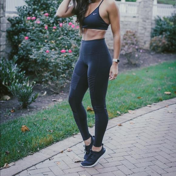 bfdcdbe6b406b8 ALO Yoga Pants | High Waist Moto Leggings In Black | Poshmark